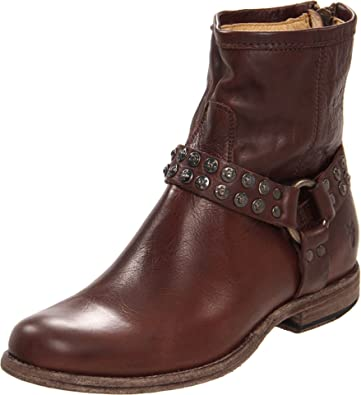 FRYE Damens's Phillip Studded Harness Boot Bootie   Ankle & Bootie Boot 584ba9