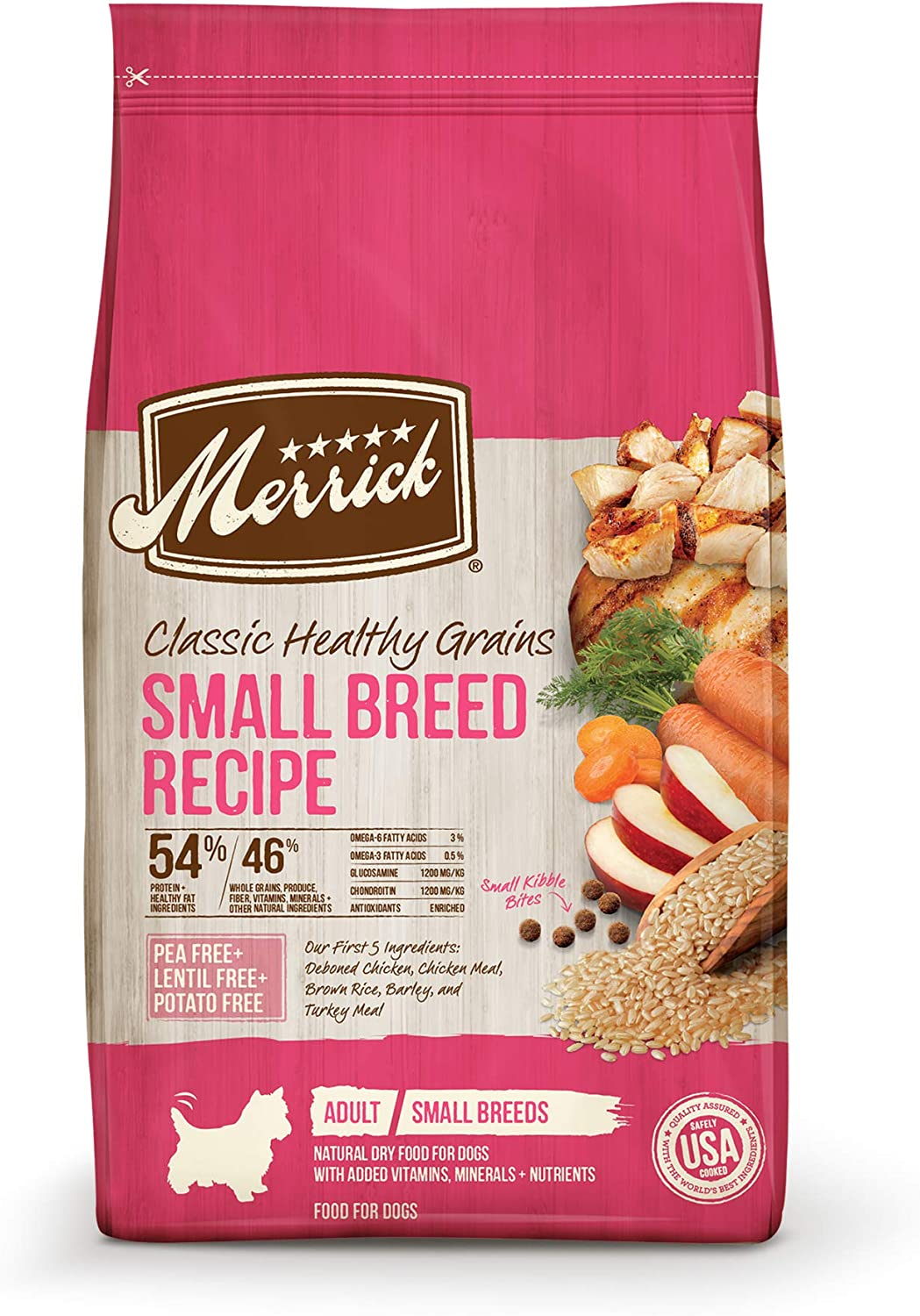 4. Merrick Classic Small Breed Recipe