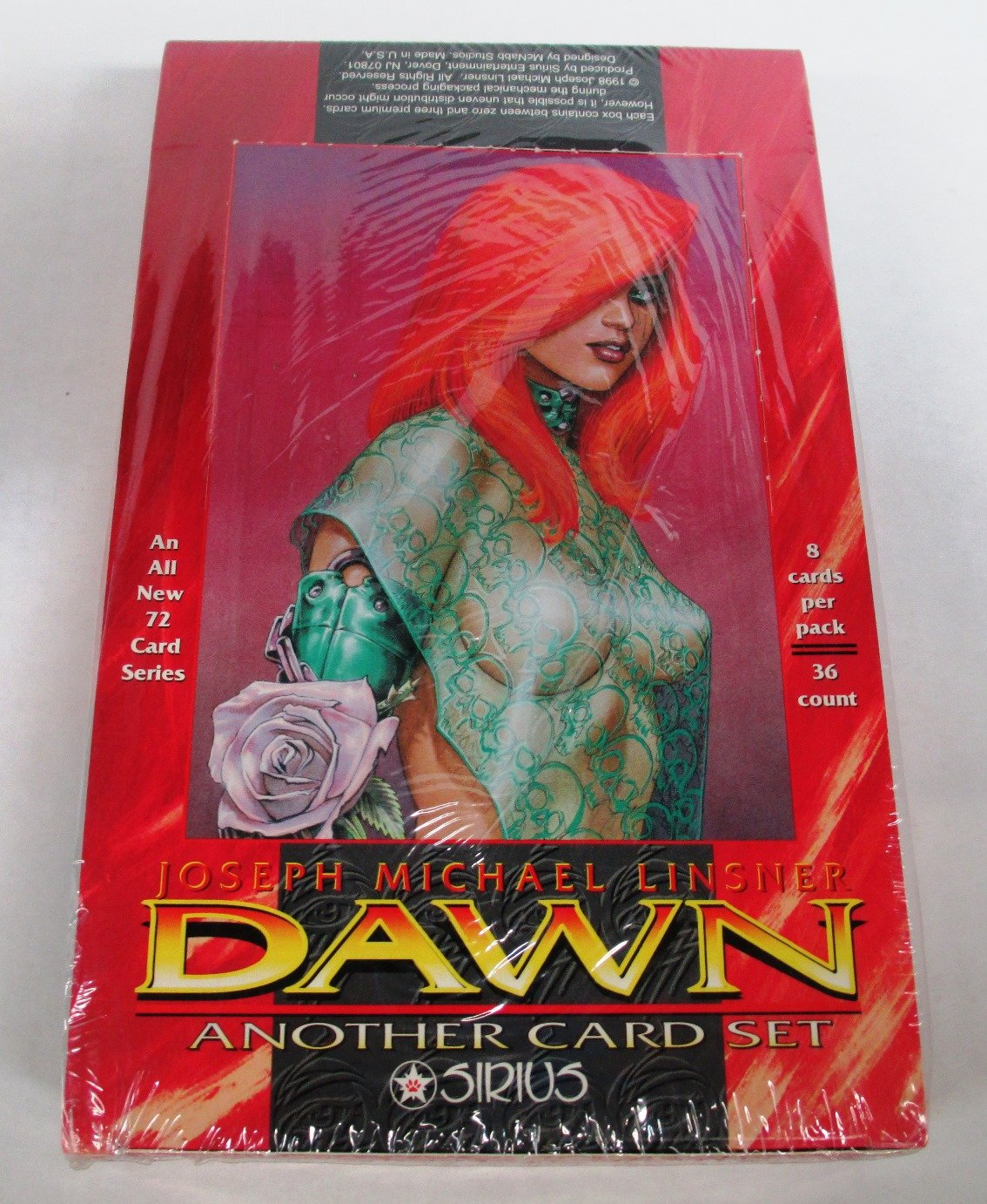 Joseph Michael Linsner's Dawn Another Trading Card Box Set - 36 Packs
