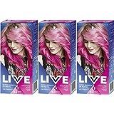 3 x Schwarzkopf Live in Color XXL Ultra Brights Shocking Pink no 93