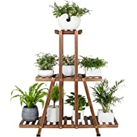 Mudeela 3-Tier Wood Plant Stand