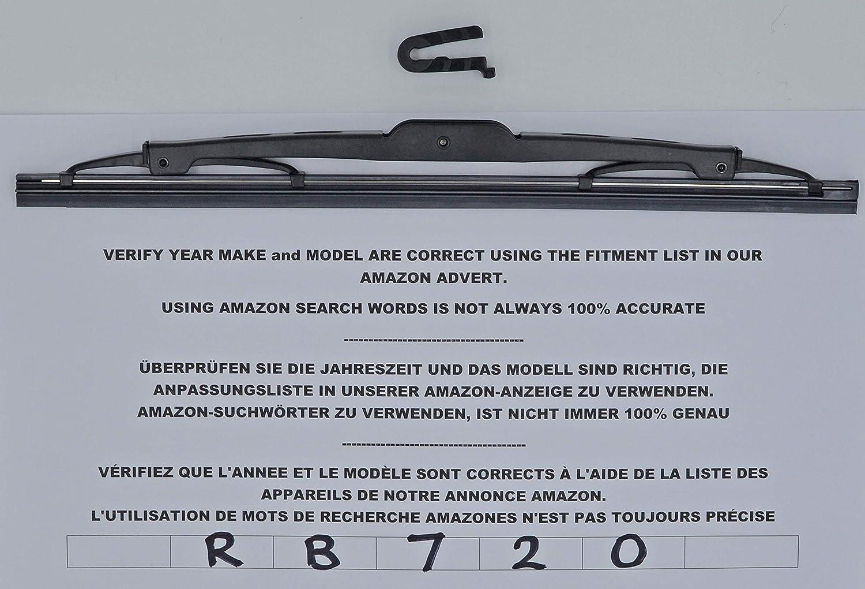 Aerzetix Car rear wiper blade length 25 cm