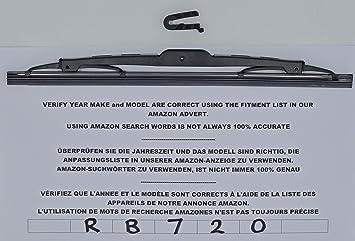 Limpiaparabrisas trasero RB720, 28 cm: Amazon.es: Coche y moto