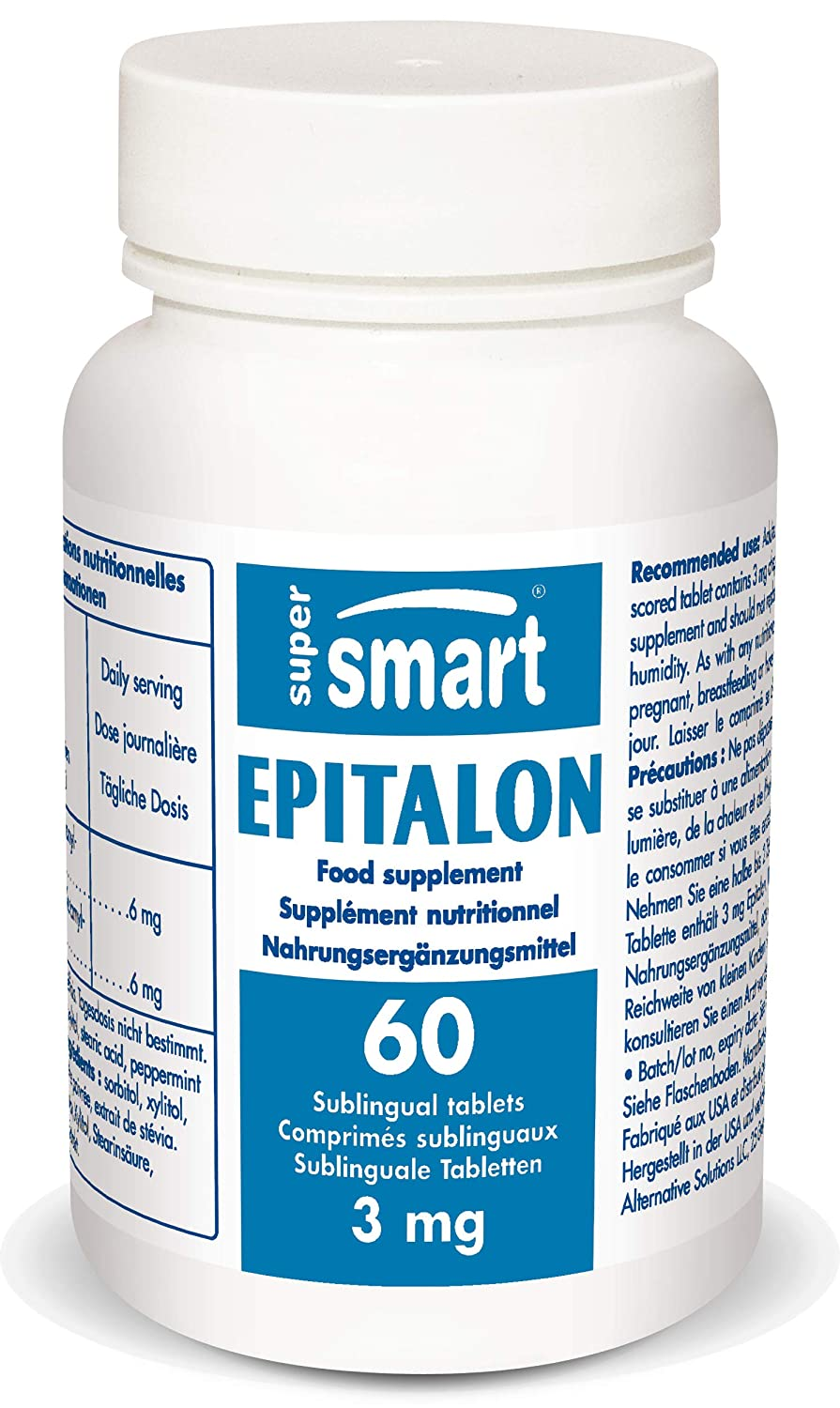 Supersmart – Epitalon 3 mg