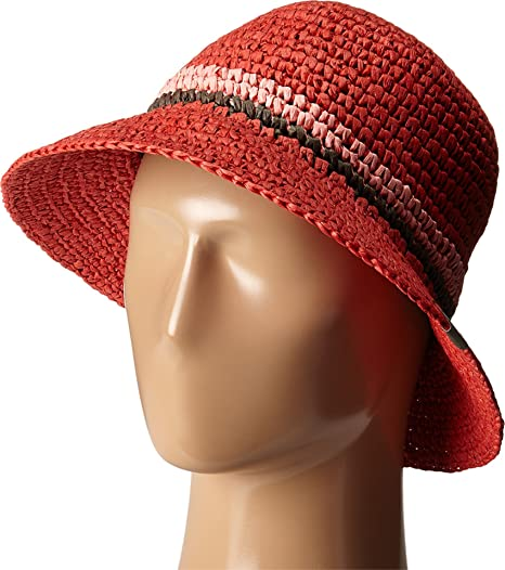 8d8d8489e1a Mountain Hardwear Women s Raffia Bucket Red Hibiscus Hat Large (LG XL 23 3