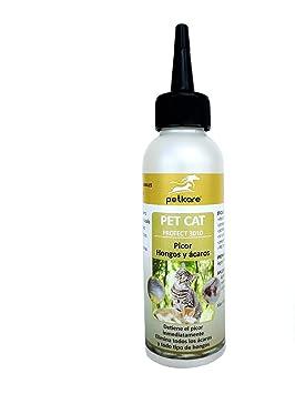 Peticare Gato Tratamiento Eficaz - 100% Biológico contra Picor ...