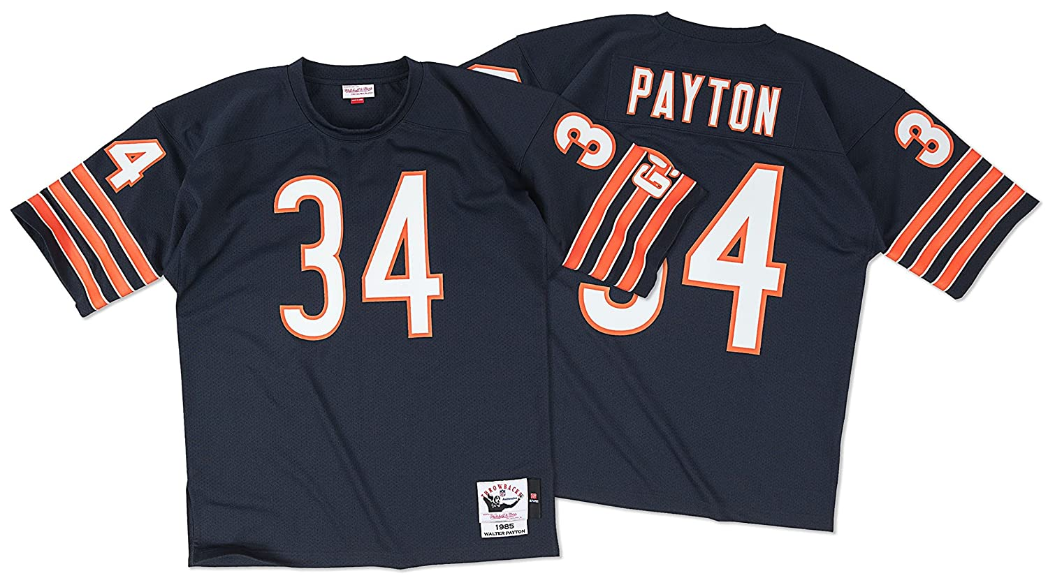 the latest 320c5 0e662 Mitchell & Ness Chicago Bears 1985 Walter Payton Authentic Throwback Jersey