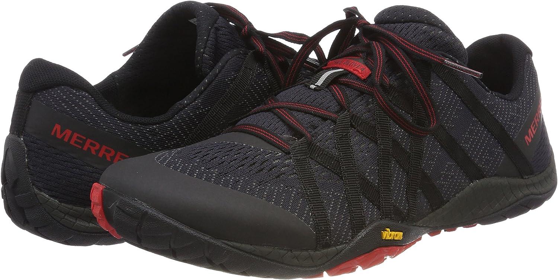 Merrell Trail Glove 4 E-Mesh, Zapatillas de Running para Asfalto para Hombre, Negro (Black), 48 EU: Amazon.es: Zapatos y complementos