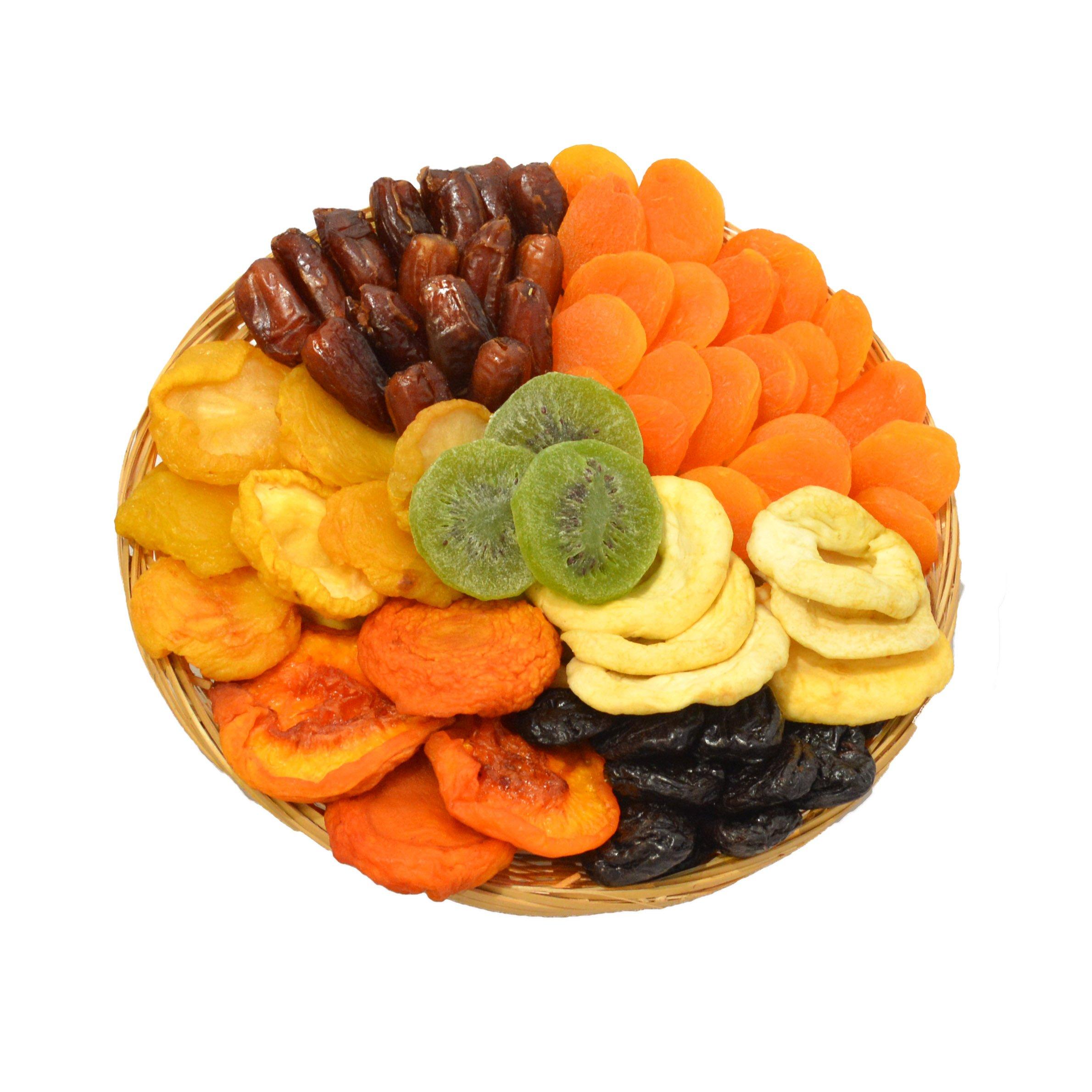 Sympathy Healthy Dried Fruit Elegante by Broadway Basketeers ~ Kosher Gift Baskets