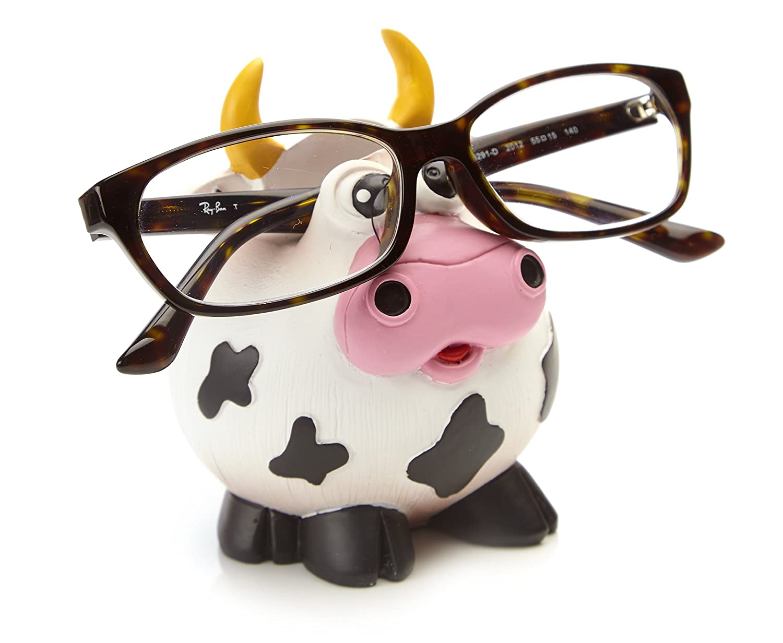 Soporte bers Gafas de diseño, Toro Vaca,