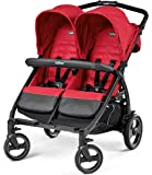 Peg Perego dbfta1MRED Poussette Double Book For Two, Mod Red