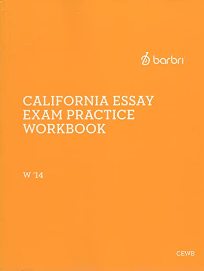 barbri california essay exam practice workbook