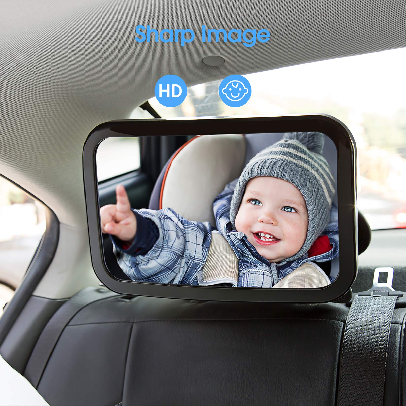 Baby Car Mirror for Back Seat, OMORC (Upgraded Version ...