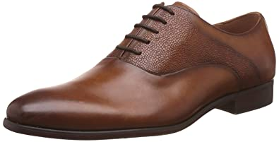 Steve Madden Men's Prymm Oxford, Brown, ...