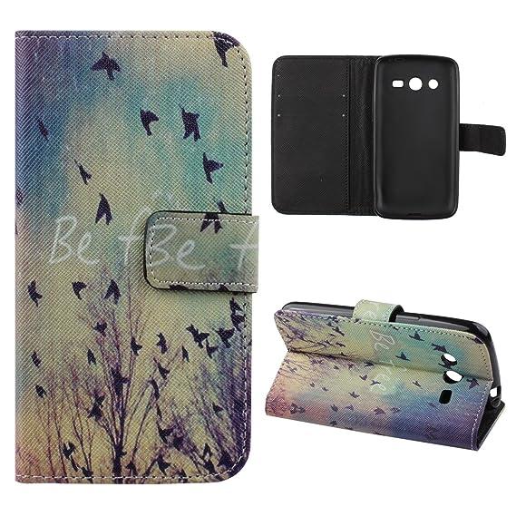 newest 06831 034a9 Galaxy Avant Case,Samsung Galaxy Avant G386 Case,Samsung Galaxy Avant  Wallet Case,UZZO PU Leather Flip Wallet Case Cover For Samsung Galaxy Avant  ...