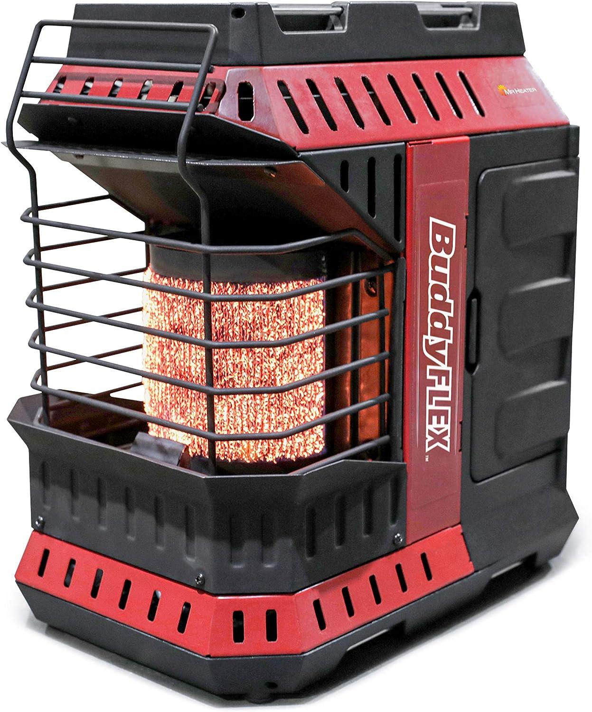 Mr. Heater MH11BFLEX Portable Propane Heater, Red