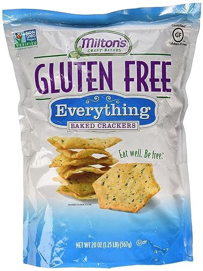 Milton de sin Gluten Baked petardos 567 G perfecto para Snacking, apilamiento y salsas