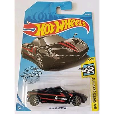 Hot Wheels 2020 Hw Speed Graphics - Pagani Huayra, Black 148/250: Toys & Games