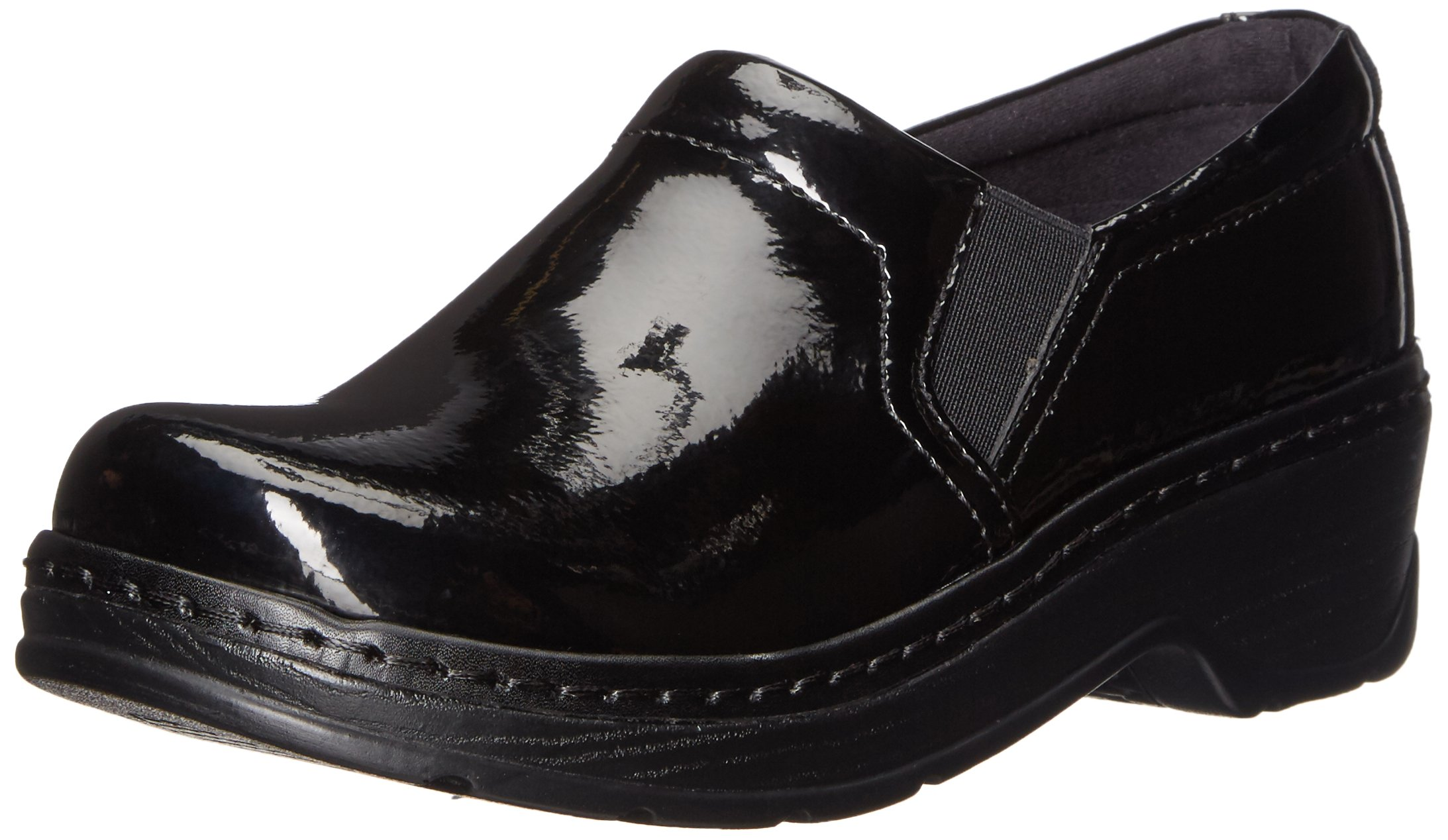 Klogs USA Women's Naples Mule, Black Patent, 6.5 M US