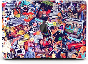 Wonder Wild Case Compatible with MacBook Air 13 inch Pro 15 2019 2018 Retina 12 11 Apple Hard Mac Protective Cover 2017 16 2020 Plastic Laptop Print Retro Pattern Stickers Vintage Music Posters Cars
