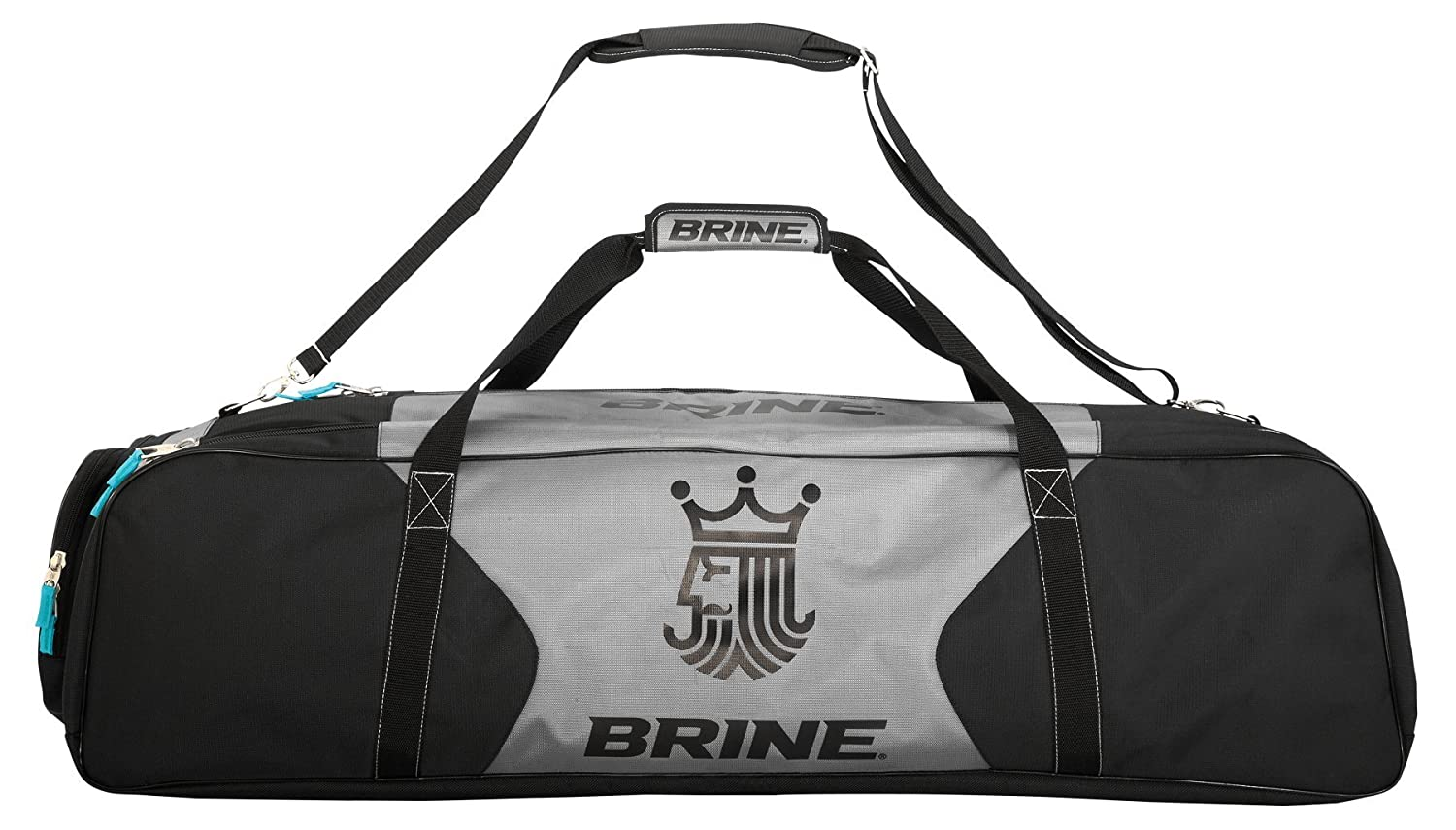 Brine Magnus Equipment Bag, Black Brine-Warrior Lacrosse BGMAG5