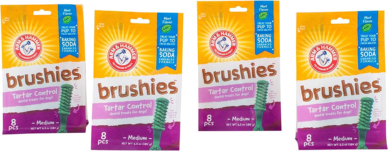 Arm & Hammer Brushies Dental Treats for Dogs