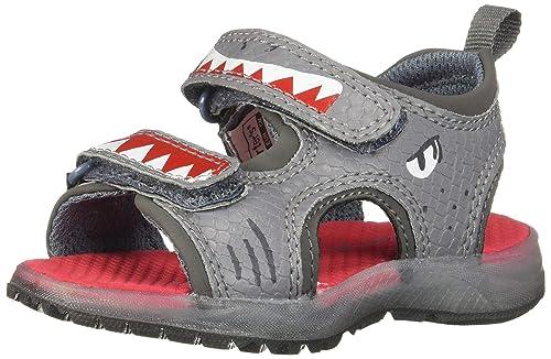 689ca29ff7ea carter s Boy s Dilan Light Sandal with Double Adjustable Straps