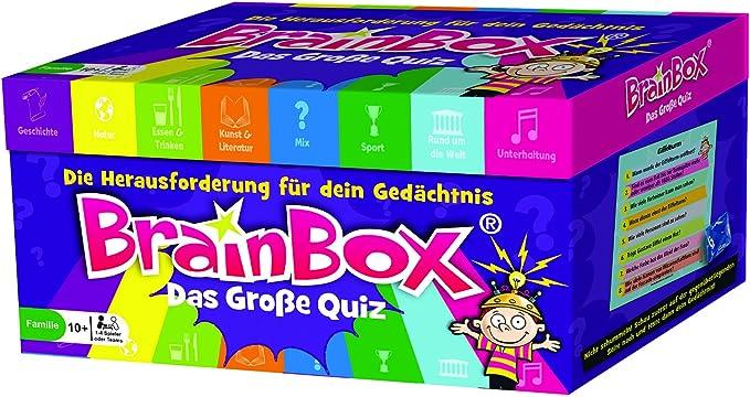 Brain Box 94998 - Juego de Preguntas para niños a Partir de 10 años: Amazon.es: Juguetes y juegos