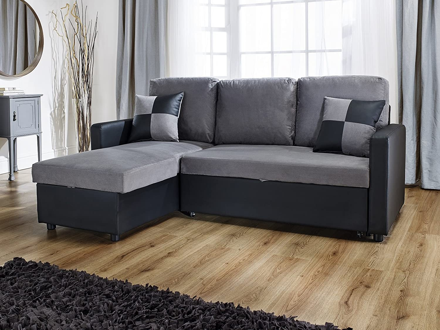 Rio Brown Leather Sofa Bed 3 Seater Mjob Blog