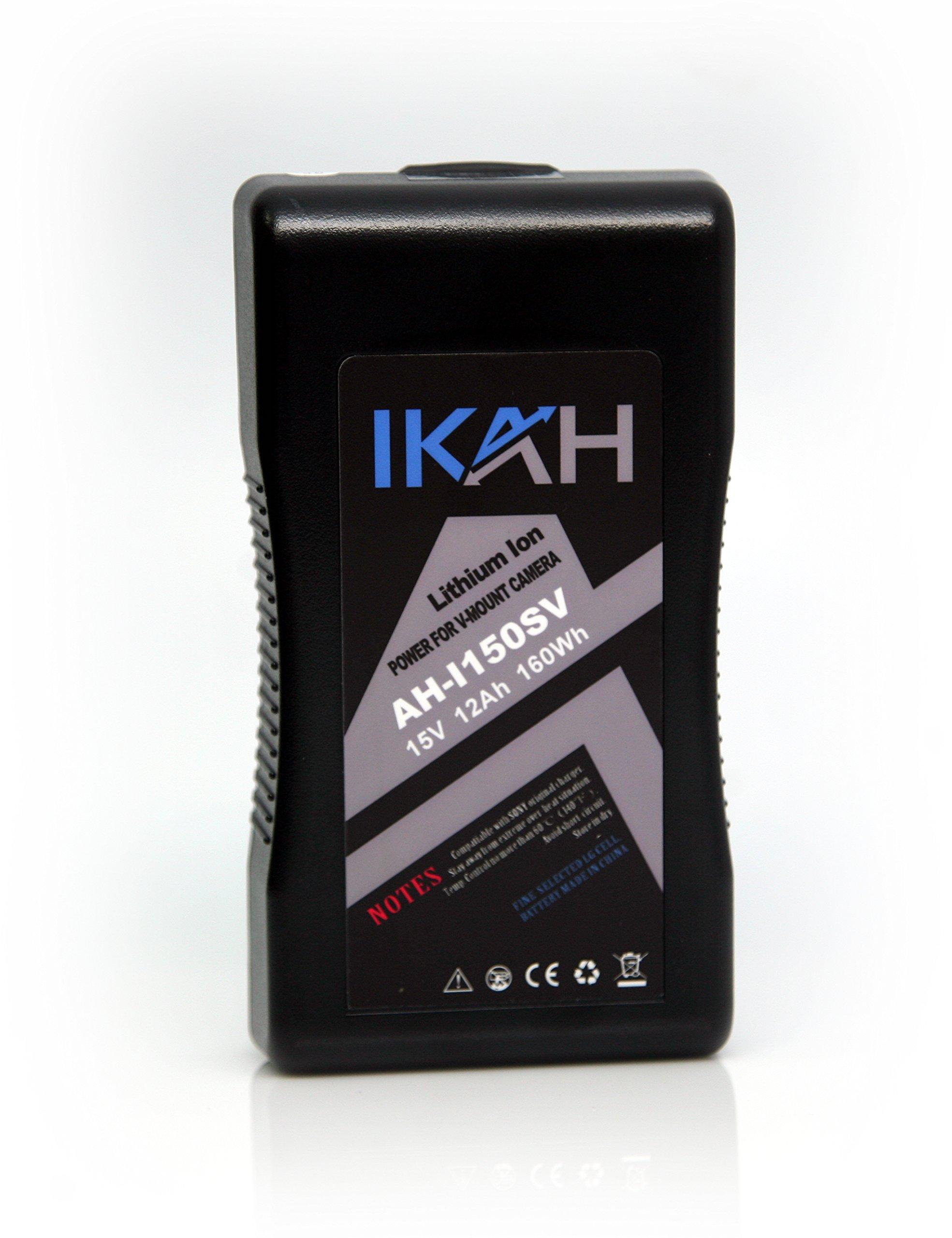 IKAH AH-I150SV rechargeable Li-ion Battery V-Mount 15V 12AH 160Wh