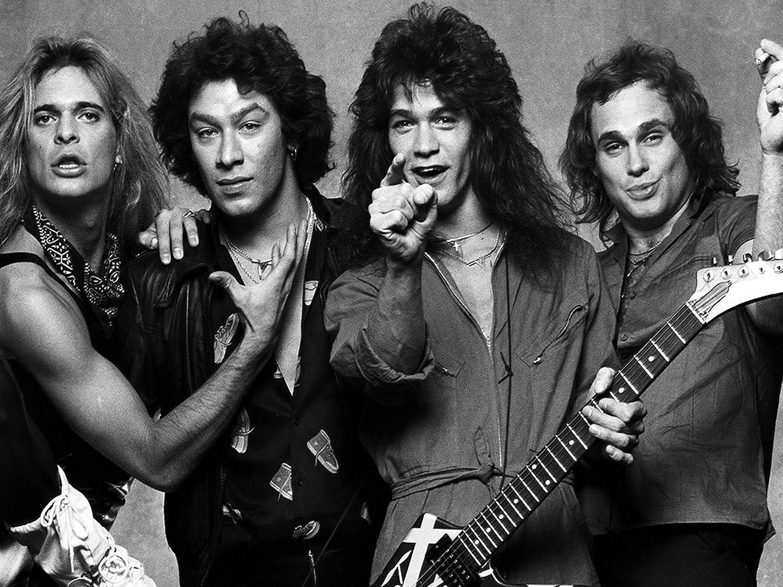 Amazon.com: Mingki Van Halen Classic Rock Star Band Poster - 18 × 24 Inch:  Posters & Prints