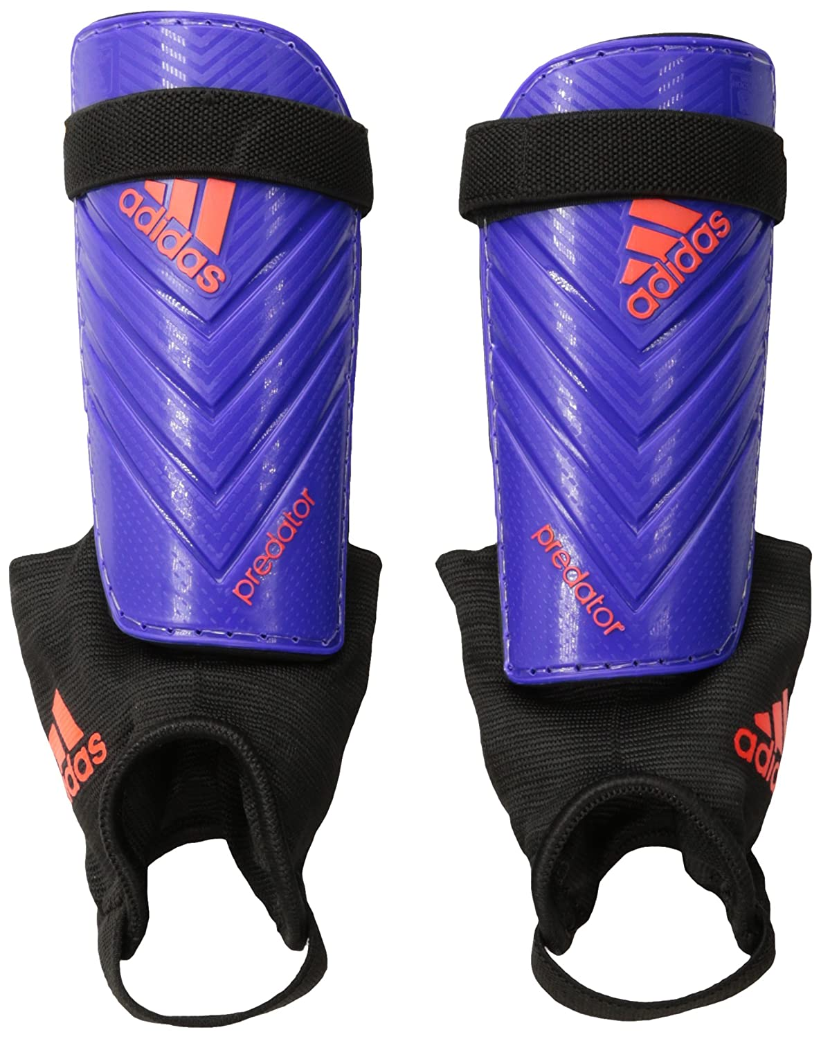 Amazon Adidas Performance Predator Club Shin Guard Night Flash Purple Solar Red Sports Outdoors