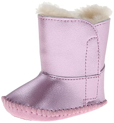 db352ec7507f Amazon.com  UGG  Australia Girl s Cassie Metallic Infant Baby Pink ...