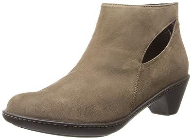 Dansko Women's Bonita Boot,Taupe Kid Suede,37 EU/6.5-7 M