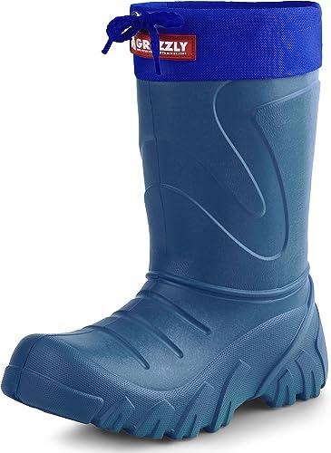 Kids Boys Girls Wellies Wellington Boots Rainy Boots Ultralight Plus Size UK