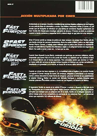 Amazon.com: The Fast And The Furious (Colección Completa: Paul Walker: Movies & TV