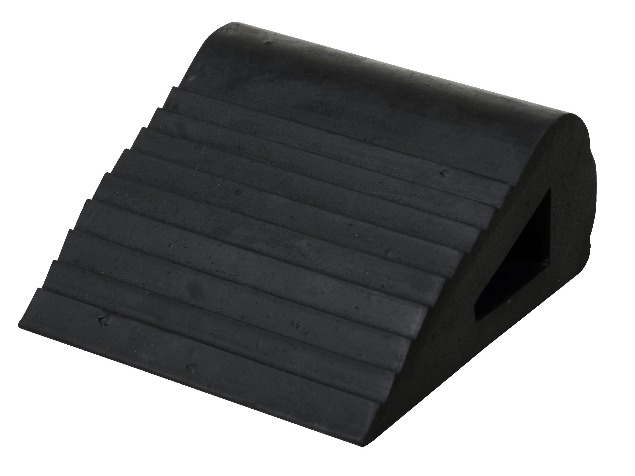 Vestil RBW-3 Industrial Rubber Wedge, 6-1/2'' L x 6'' W x 3-1/4'' H