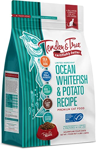 Tender True Ocean Whitefish Potato Recipe Cat Food
