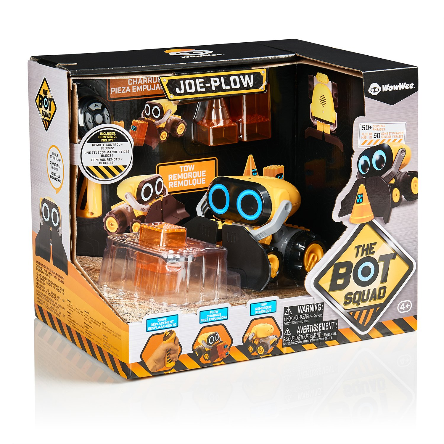 The Botsquad - Joe Plow - the path clearing remote control interactive robot toy -  by WowWee by WowWee (Image #8)