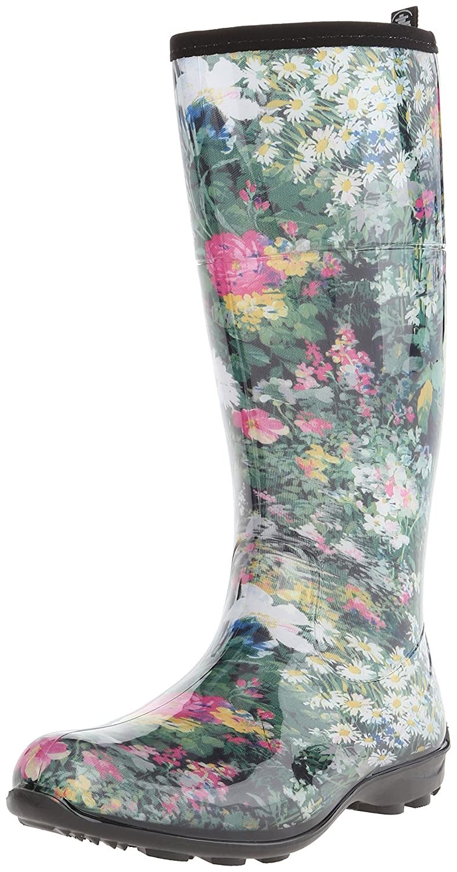 Kamik Women's Eden Rain Boot B00M0709U2 6 B(M) US Green