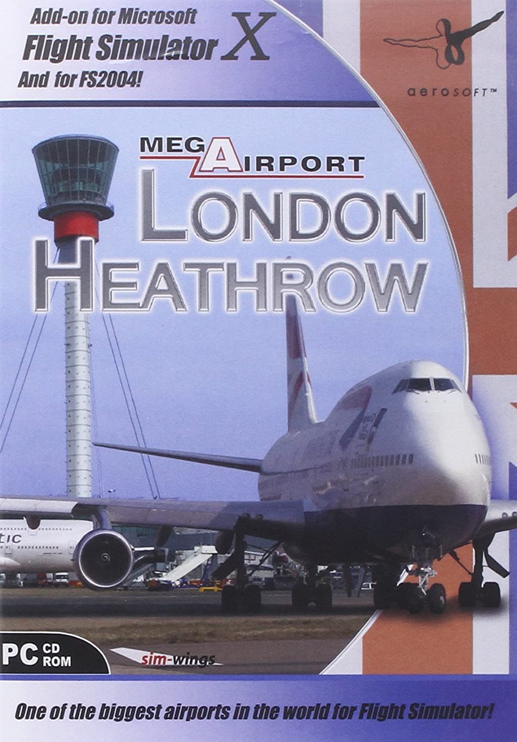 Mega Airport: London Heathrow Add-On for FS 2004/FSX (PC CD): Amazon