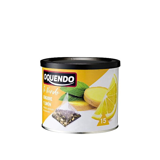 Oquendo, Infusión de hierba (Té verde jengibre y limón) - 3 de 30