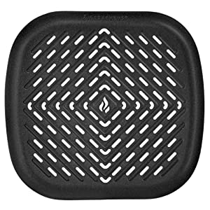 Air Fryer Grill Pan Accessories Compatible with Philips Air Fryer, NuWave Brio, Chefman, Cozyna, Emerald, Power Air Fryer, Maxi Matic, Secura, Tidylife +More Small to Medium Deep Fryer by Infraovens