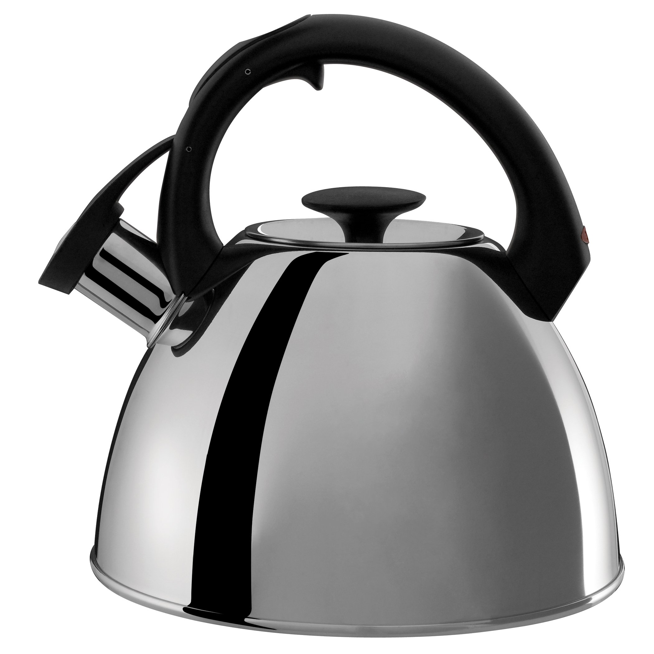 OXO Good Grips Click-Click Tea Kettle Polished Stainless Steel  2.1-Qt.