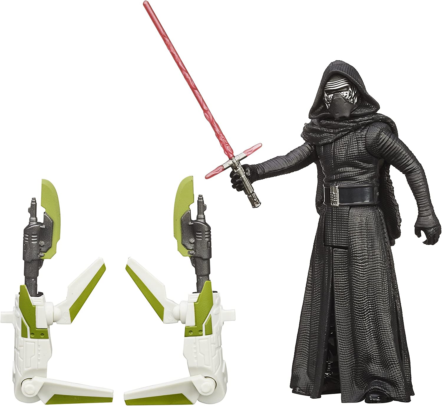 Star Wars The Force Awakens Forest Mission Kylo Ren Figure with Accessories, 3.75-Inch