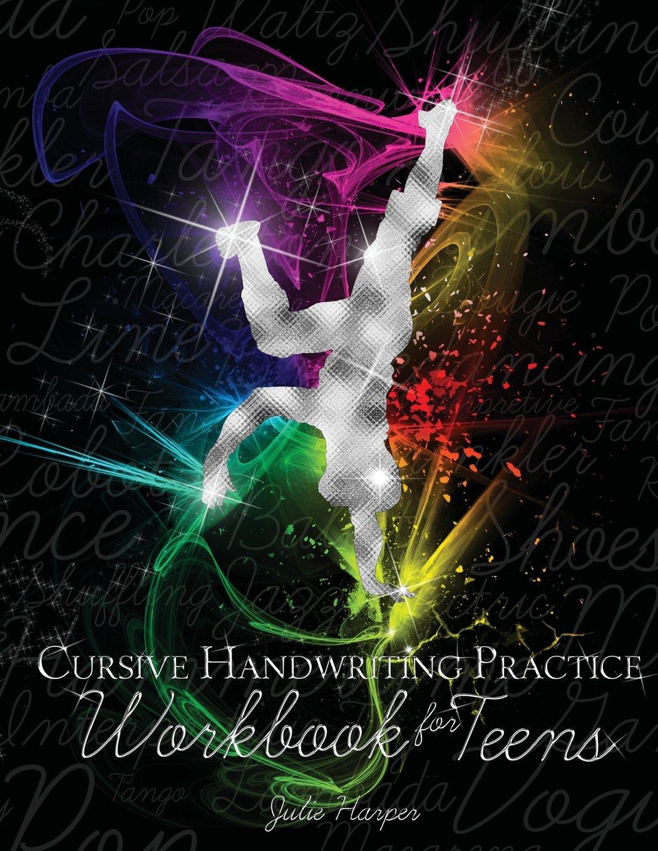 Workbooks practice workbook : Cursive Handwriting Practice Workbook for Teens: Julie Harper ...