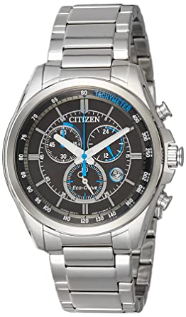 3811ffd65 Image Unavailable. Image not available for. Color: Citizen Men's Eco-Drive  AT2130-83E Silver Stainless-Steel Japanese Quartz ...