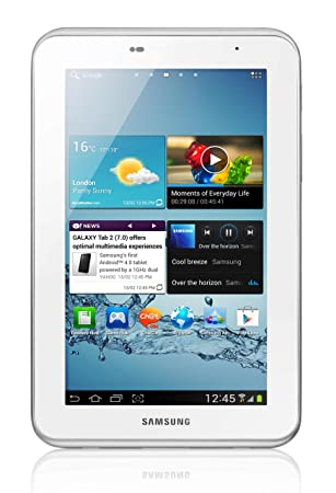 Samsung Galaxy Tab 2 7inch Tablet - White (8GB, WiFi, Android 4.0 ...