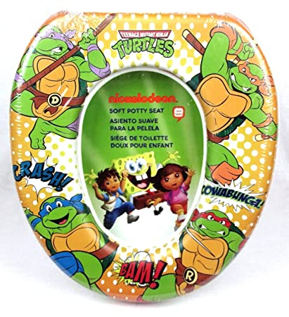 Amazon.com : Teenage Mutant Ninja Turtles Comic Style Soft Potty Training Seat : Baby