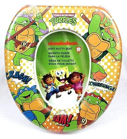 Amazon.com : Teenage Mutant Ninja Turtles Comic Style Soft Potty Training Seat : Baby